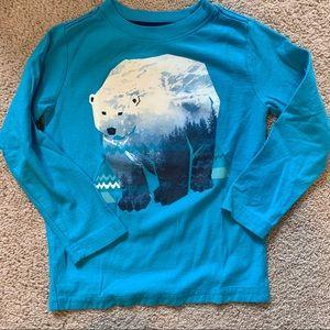 Tea Collectiin Polar Bear Long sleeve tee